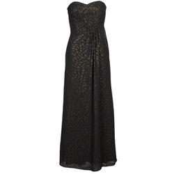 Clothing Women Long Dresses Manoukian 612930 Black / Gold