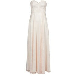 Clothing Women Long Dresses Manoukian 613346 Pink / Beige