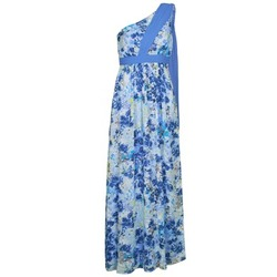 Clothing Women Long Dresses Manoukian 613356 Blue