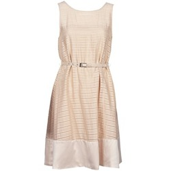 Clothing Women Short Dresses Manoukian 613374 BEIGE
