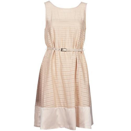 Clothing Women Short Dresses Manoukian 613374 Beige