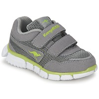 Shoes Children Low top trainers Kangaroos LASIC Grey