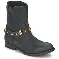 Shoes Women Mid boots Moschino Cheap & CHIC CA21013G1ZCE Black