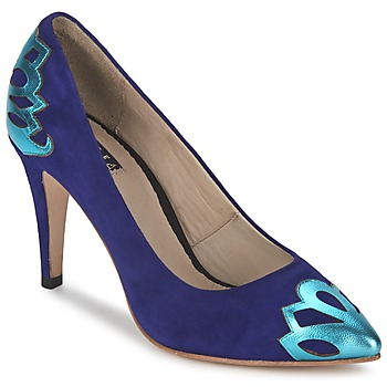 Shoes Women Heels C.Petula SNOWFLAKE Blue