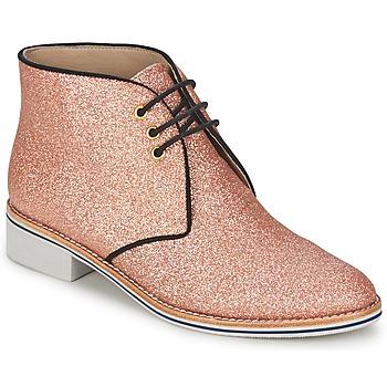 Shoes Women Mid boots C.Petula STELLA Pink
