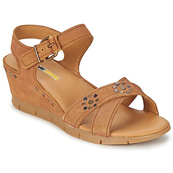 Shoes Women Sandals Manas  Camel