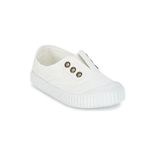 Shoes Children Low top trainers Victoria INGLESA LONA TINTADA White