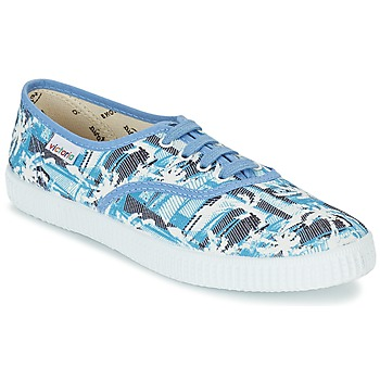 Shoes Low top trainers Victoria INGLES PALMERAS Blue / White