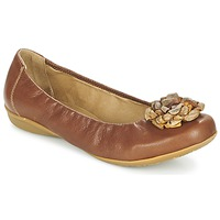 Shoes Women Flat shoes Dkode FALLON COGNAC