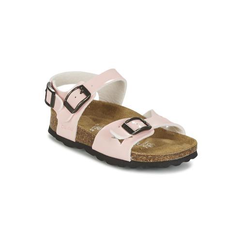 Shoes Girl Sandals Betula Original Betula Fussbett JEAN Pink