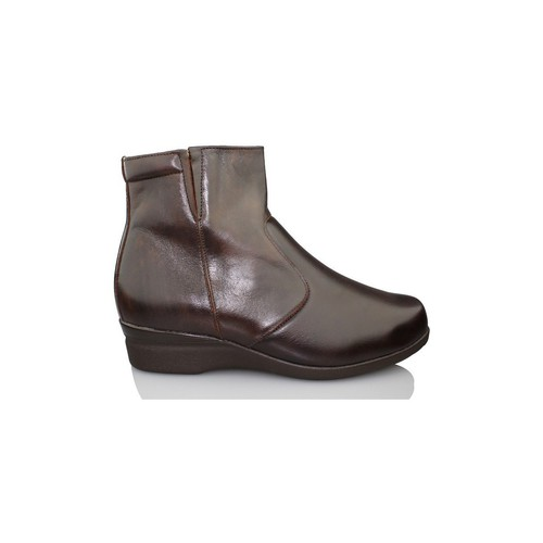Shoes Women Ankle boots Dtorres SAPPORO B5B4 BROWN