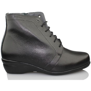 Shoes Women Ankle boots Dtorres OTTAWA LACE BOOTS BLACK