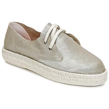 Shoes Women Espadrilles Bunker IBIZA Silver