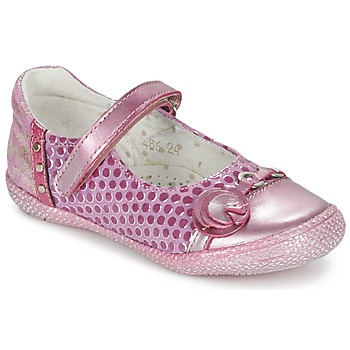 Shoes Girl Flat shoes Babybotte KAYLINE Pink