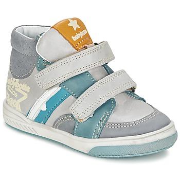 Shoes Boy Hi top trainers Babybotte APPOLON Grey