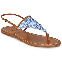 Shoes Women Flip flops Missoni XM032 Brown