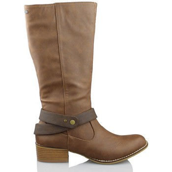 Shoes Women High boots MTNG MUSTANG ELEMENT TESTA BROWN