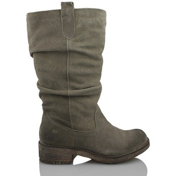 Shoes Women Mid boots MTNG MUSTANG women split GREY