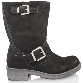 Shoes Women Mid boots MTNG Mrs. BJ booty MUSTANG BLACK