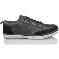 Shoes Men Low top trainers MTNG MUSTANG men casual shoe BLACK