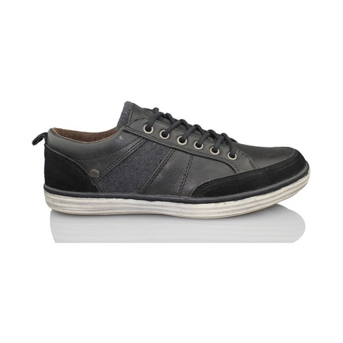 Shoes Men Low top trainers MTNG MUSTANG men shoe BLACK