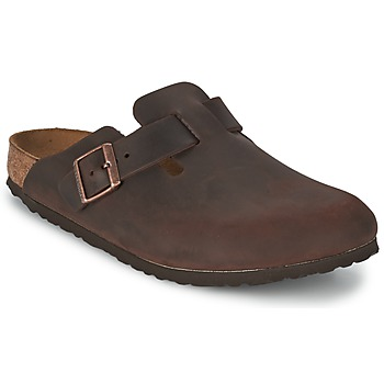 Shoes Clogs Birkenstock BOSTON PREMIUM Brown