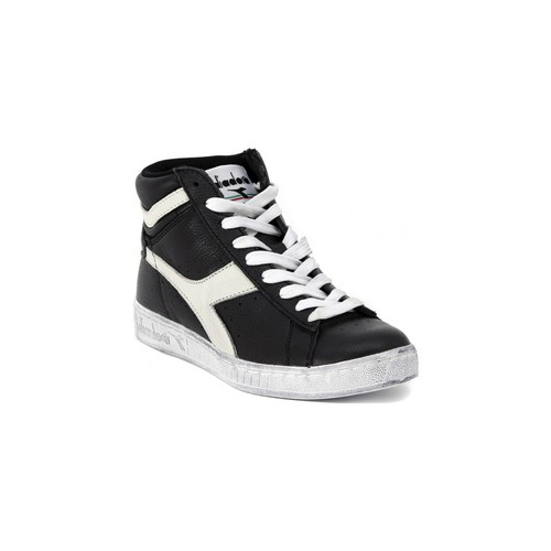 Shoes Hi top trainers Diadora GAME L HIGH black