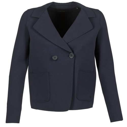 Clothing Women Jackets / Blazers Marc O'Polo ONTARITA Marine