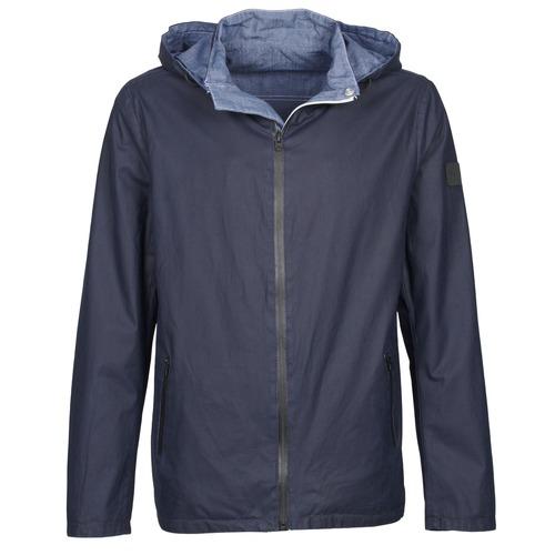 Clothing Men Jackets Wrangler W4554VDJU Marine