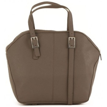 Bags Women Shopping Bags / Baskets Armani jeans TOP HANDLE TAUPE Marrone