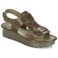 Shoes Women Sandals Fly London KANI Brown