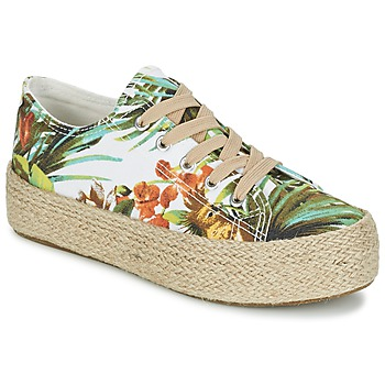 Shoes Women Low top trainers Wildflower EGINA Green / Clear