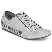 Shoes Men Low top trainers Redskins TEMPO Silver