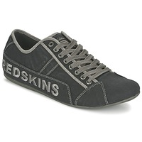 Shoes Men Low top trainers Redskins TEMPO Black