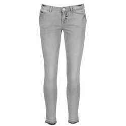 Clothing Women Cropped trousers Vero Moda FLASH Grey