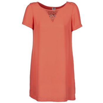 Clothing Women Short Dresses Vero Moda TRIPPA Coral