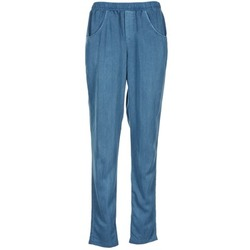 Clothing Women Wide leg / Harem trousers Vero Moda AMINA Blue