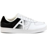 Shoes Men Low top trainers Armani  Jeans SNEAKER  WHITE    113,8