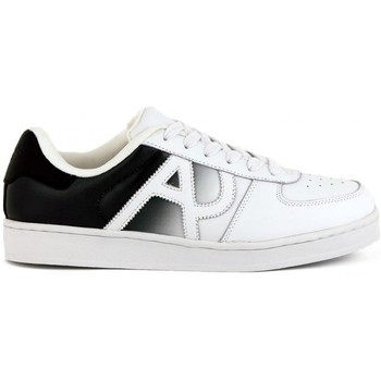Armani  Jeans  SNEAKER  WHITE  mens Shoes (Trainers) in multicolour