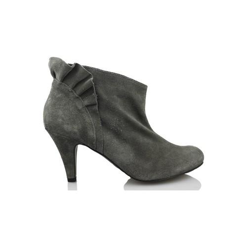 Shoes Women Shoe boots Vienty booty elegant short GREY