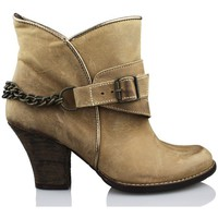 Shoes Women Ankle boots Vienty ESPUELAS-MOSCU BROWN