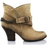 Shoes Women Ankle boots Vienty ESPUELAS-MOSCU BROWN