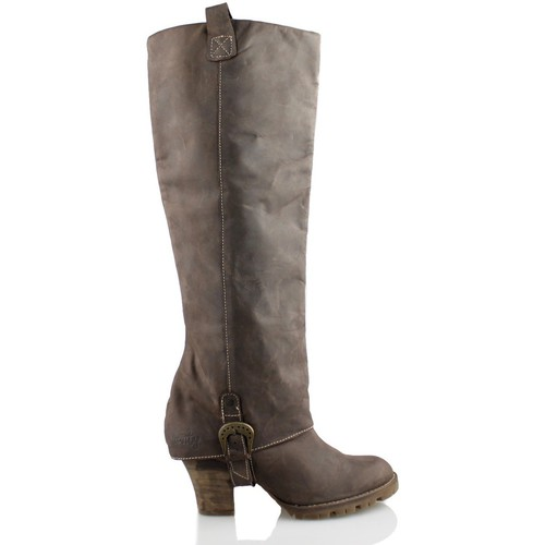 Shoes Women High boots Vienty SOLPA CHOCO BROWN
