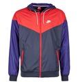 Clothing Men Macs Nike WINDRUNNER MARINE / Red / Blue