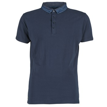 Clothing Men short-sleeved polo shirts Deeluxe AGAINER Marine