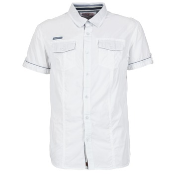 Clothing Men short-sleeved shirts Deeluxe ISLANDO White