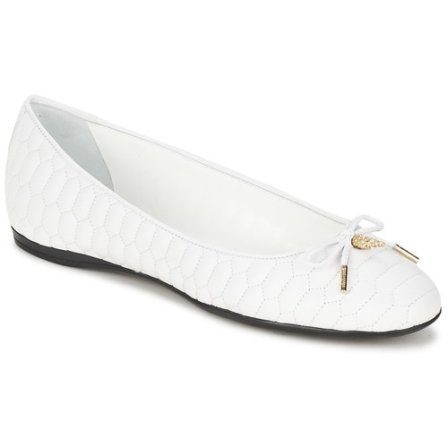 Shoes Women Flat shoes Roberto Cavalli XPS151-PN119 White