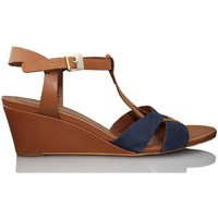 Shoes Women Sandals Martinelli NUT BLUE