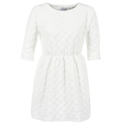 Clothing Women Short Dresses Compania Fantastica FRENE White