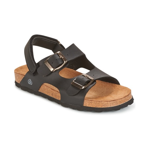 Shoes Boy Sandals Citrouille et Compagnie BALDODE Black / Matt
